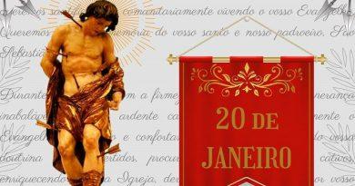 Em Taquaritinga (SP): Confira a programação religiosa no dia de São Sebastião, padroeiro da cidade