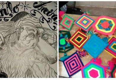 Adolescentes da Fundação CASA de Taquaritinga (SP) estudam biografias de grandes educadores e participam de oficina de artesanato durante férias escolares
