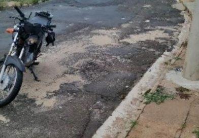 Motociclista embriagado sofre queda no centro de Taquaritinga (SP)