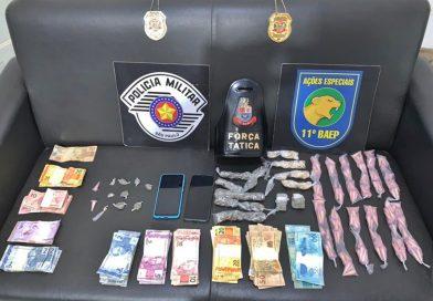 Operação contra tráfico de drogas prende duas pessoas em Fernando Prestes (SP)