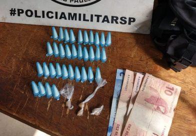 Em Taquaritinga (SP): Adolescente é detido com entorpecentes no Francisco Romano