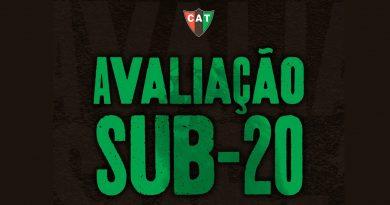 Em Taquaritinga (SP): CAT promove avaliação para escolha do elenco Sub-20