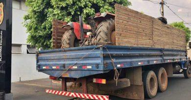 Quadrilha de Taquaritinga (SP) especializada em furto de tratores é detida na região