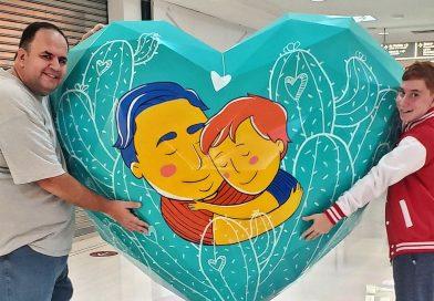 Em Taquaritinga (SP): História de pai e filho é retratada no Art Of Love SP 2021