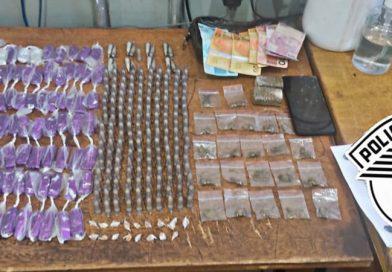 Em Taquaritinga (SP): PM detém jovem por tráfico de drogas no Jardim do Bosque